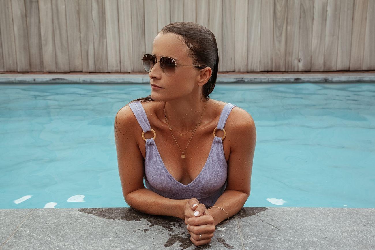 Swimming Pool Babe